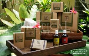 Post-Natal Massage-Tropical Herbs & Oils,Dubai ✿Cucciku✿ Tanamera Complete Postnatal Care Set