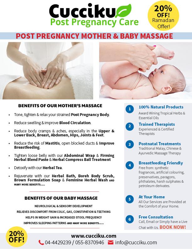 Postnatal Mother & New Born Massage in Dubai