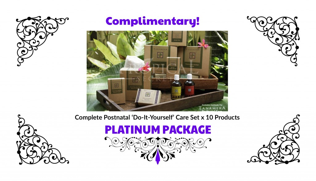 Free Complete Postnatal Care Set.