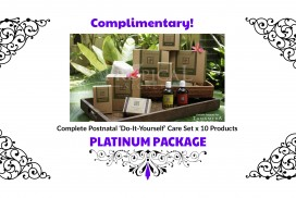 Free Complete Postnatal Care Set